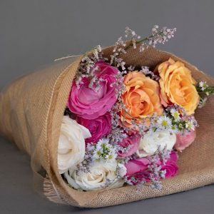 Rainbow Mix Roses