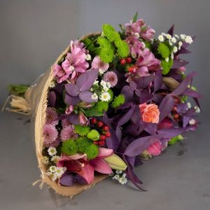 Mixed Paster Bunch Flowers