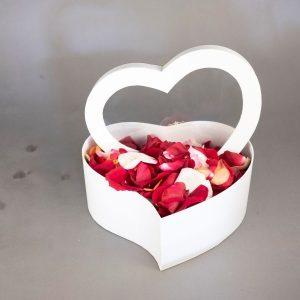 Rose Petals In A Box